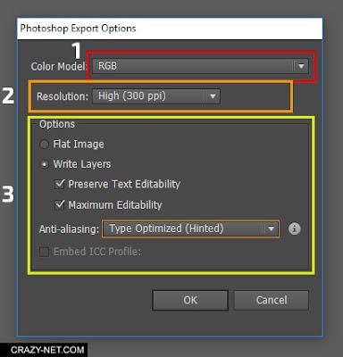 كيفية تحويل امتداد Ai و eps الى PSD لفتح ملفات فيكتور على الفوتوشوب