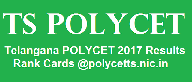 TG State, TS Results, TS POLYCET, www.polycetts.nic.in, Polycer Results, Results, Rank Cards, State Board of Technical Education and Training