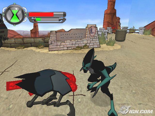 Ben 10 Alien Force PS2 Game Free Download