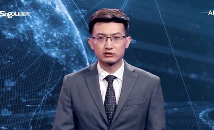 World's first AI presenter