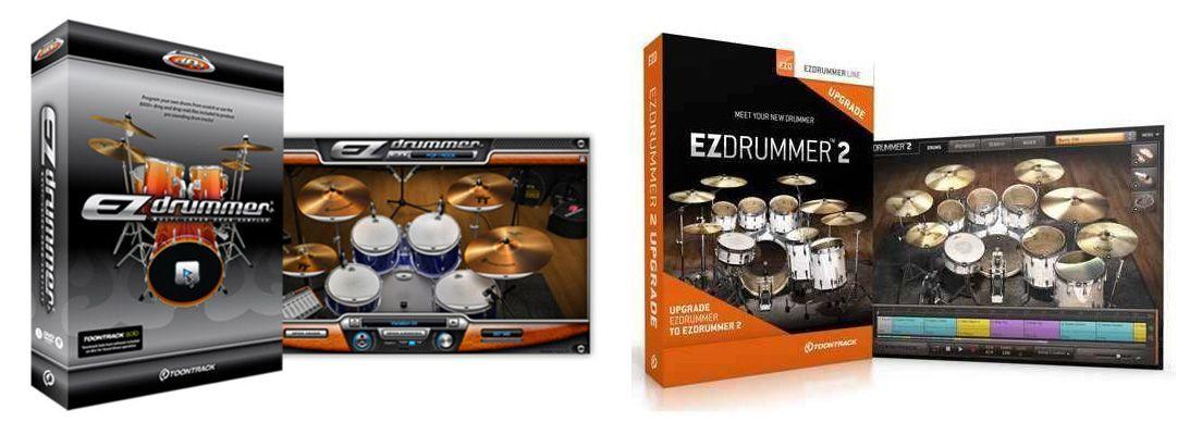EZDrummer Instrumentos de Percusión y Baterías VST