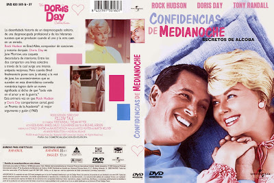Cine Clasico, Carátula, Cover, DvD:  Confidencias de media noche | 1959 | Pillow Talk