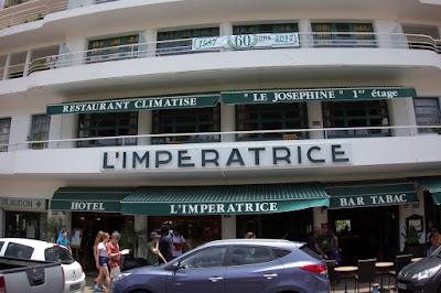Restaurant Le Joséphine à l'hôtel l'Impératrice à Fort de France blog Délices à Paris.