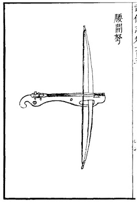 Ming Chinese waist crossbow