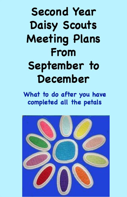 Second year Daisy Scout meeting plans from September to December without doing a single Journey