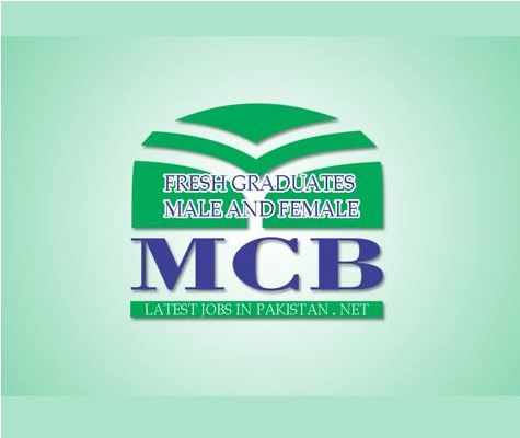Bank Jobs, MCB Jobs, Private Jobs, Latest Jobs in MCB Bank for Fresh Graduate, JOBS IN MCB, MCB Jobs,