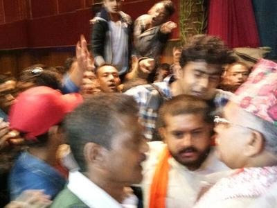 West Bengal BJP chief Dilip Ghosh heckled in Darjeeling