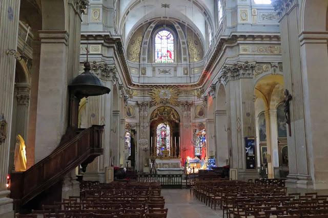 The Île-Saint-Louis church