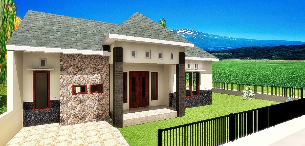 Rumah tumbuh tahap kedua, tampak samping