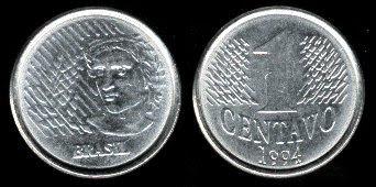 Brazil 1 Centavo (1994-1997)