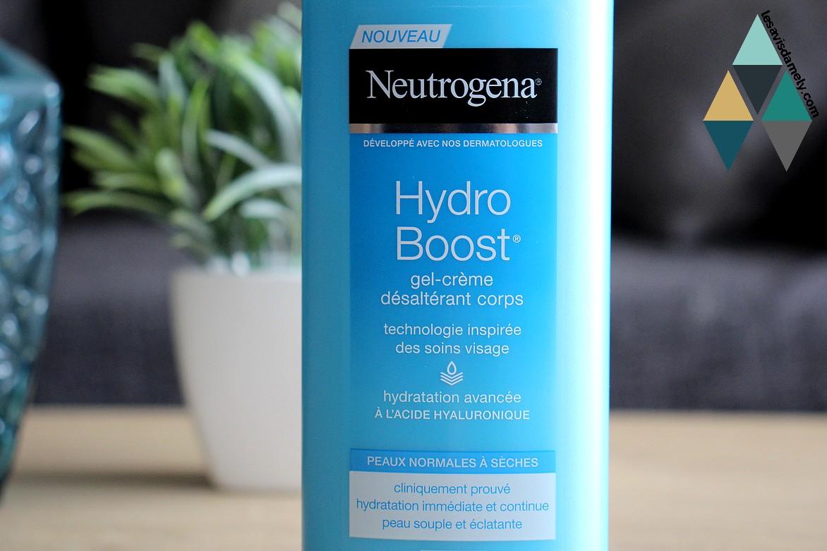 hydro boost neutrogena soin hydratant désaltérant