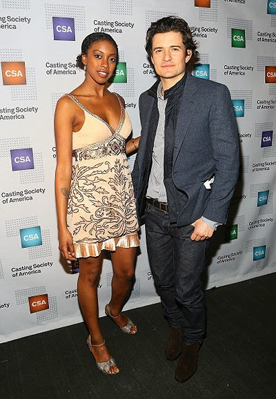 CONDOLO Rashad and Orlando Bloom
