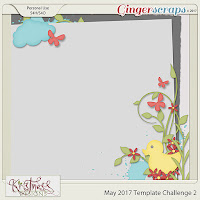 Template : May Template Challenge 2 by Kristmess Designs
