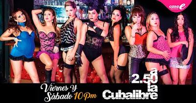 Poster A 2.50 La Cuba Libre