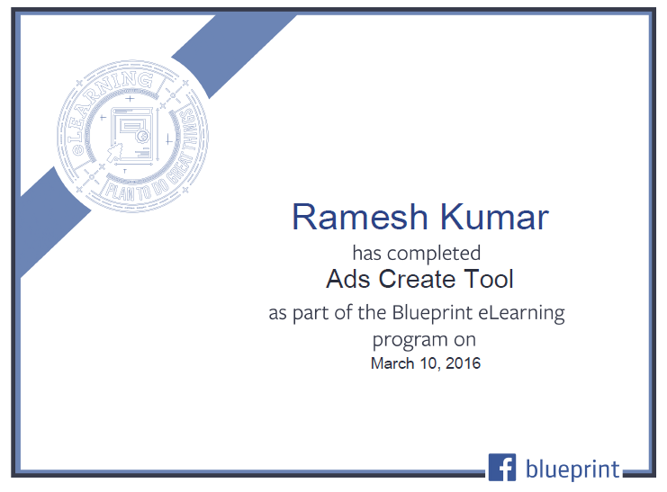 Facebook PPC Certificate 2