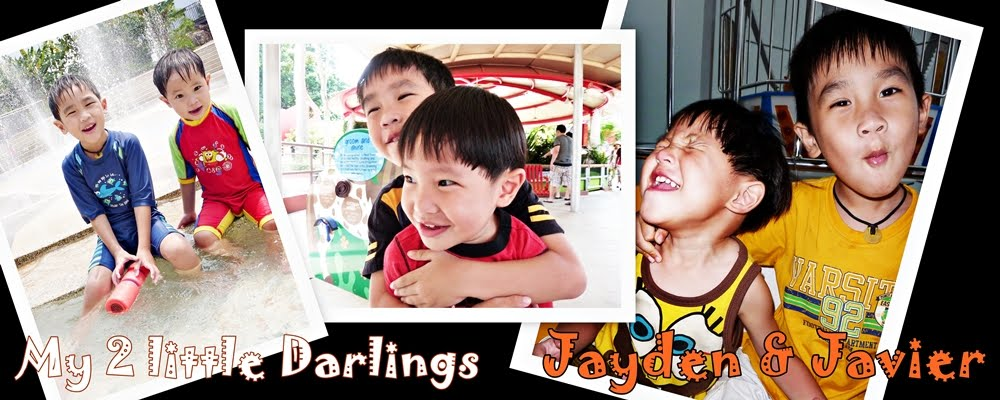 My 2 Little Darlings Jayden & Javier