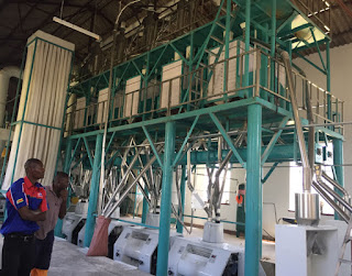 Flour mill is running in Zimbabwe