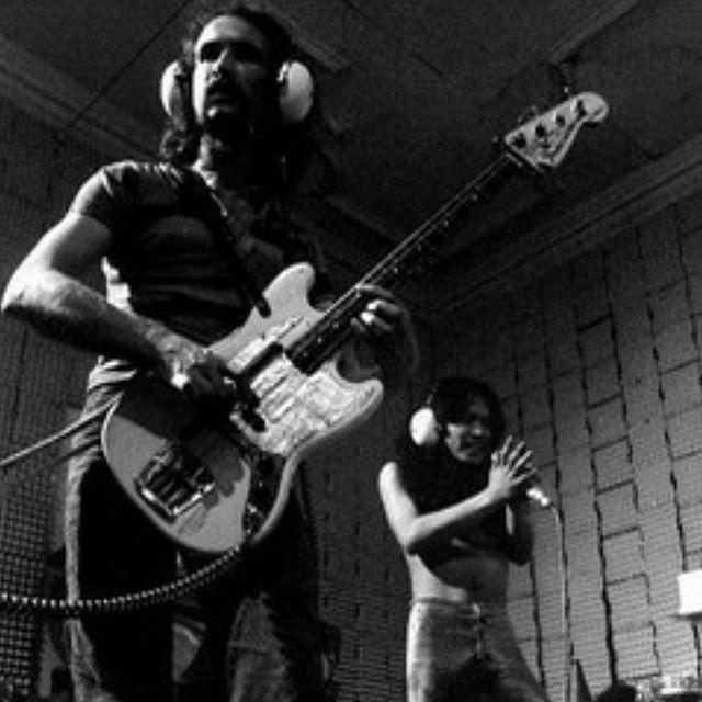 Holger y Damo en 1971.