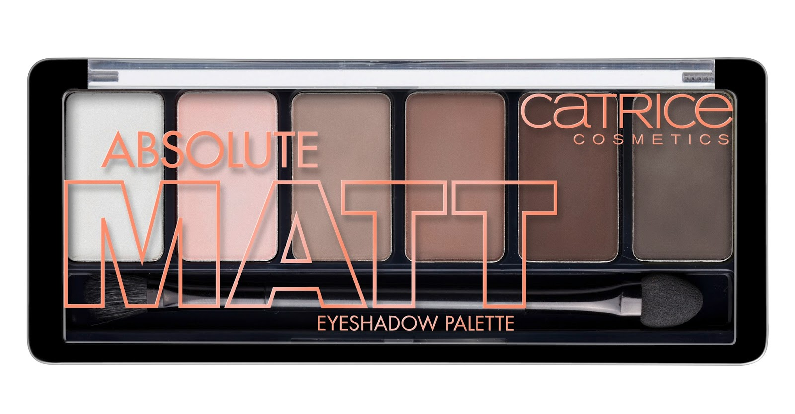 Catrice - Absolute Matt Eyeshadow Palette