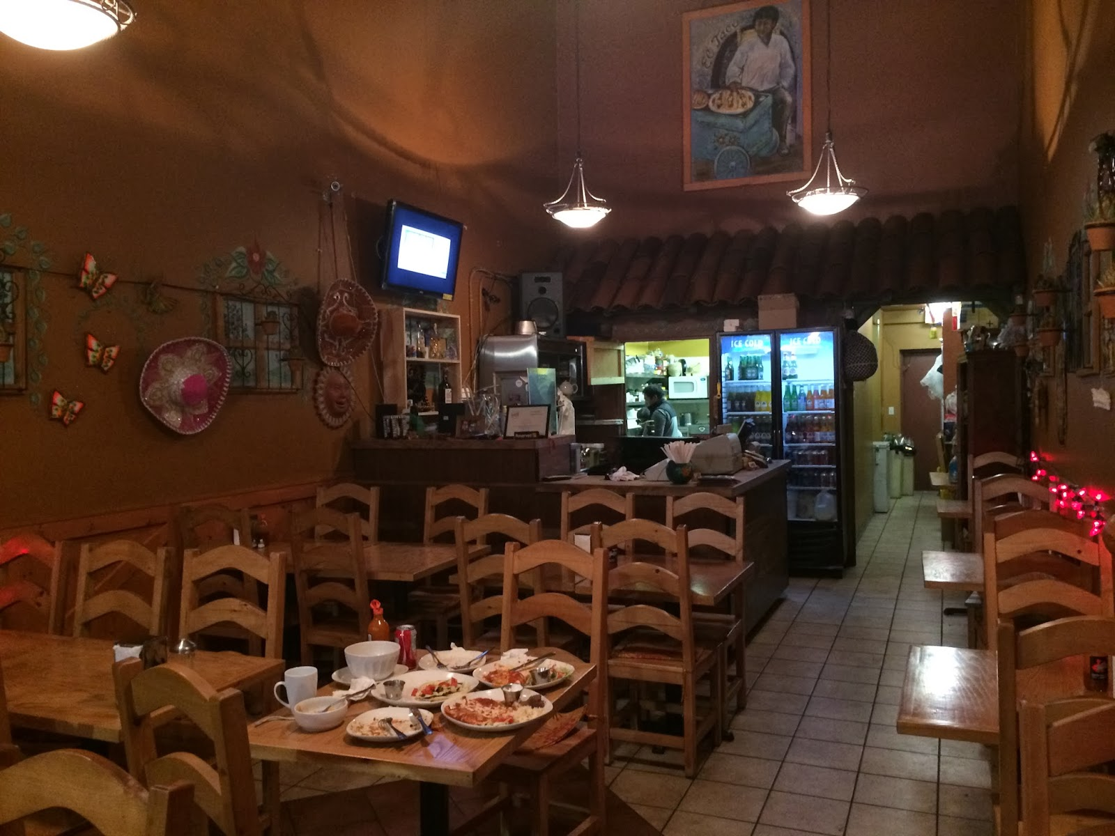 Vallarta S Mexican Restaurant Is A Small Casual Family Run Business The Interior Squeaky Clean And There Are Less Than Ten Tables
