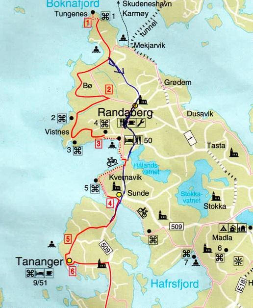 nordsjøruta kart Margunn sin sykkelblogg: Langs havet frå Tananger til Tungenes nordsjøruta kart