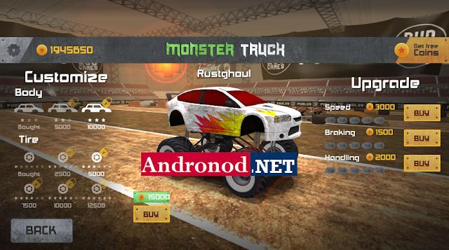 Monster Truck Racing v2.1.8 Mod Apk Data Obb (Unlimited Money)