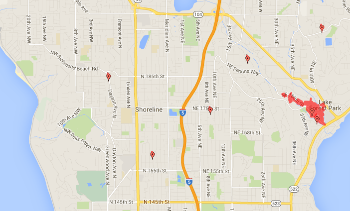 Shoreline Area News: Outages linger in Lake Forest Park