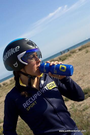 Judith Corachán nos aconseja cuidar la hidratación antes de un half