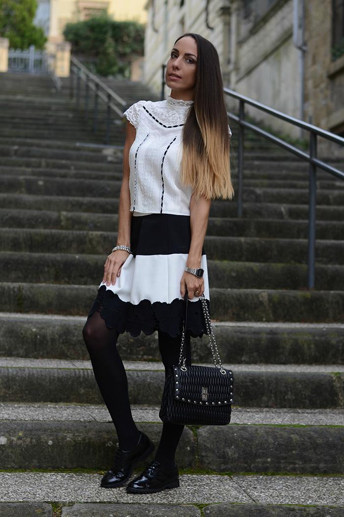 outfit con francesine
