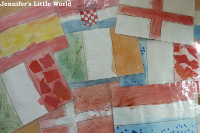 A simple flag craft for children