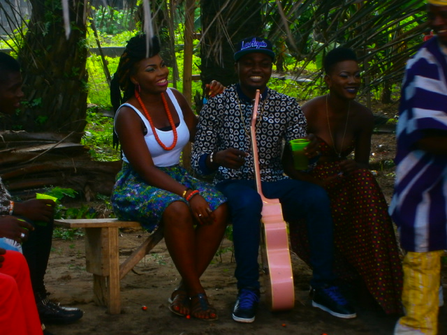 The making of Labe igi Video directed by Minimax for Maxbeat Montage