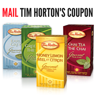 Tim Horton's MAIL Coupon- Limited Time