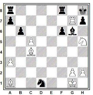 Posición de la partida Denker - Becker (Nueva York, 1947)