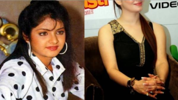 बॉलीवुड एक्ट्रेस दिव्या भारती की बहन दिखती है बेहद हॉट आप भी देखें