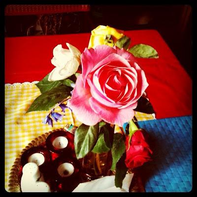 Greek roses