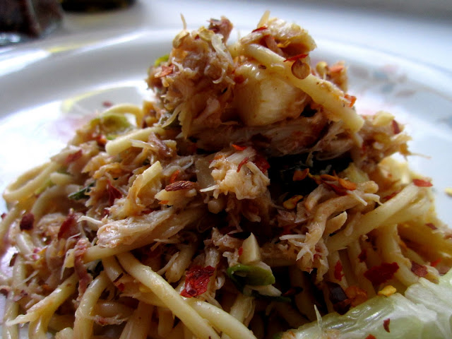 unlike anything i've seen: Crab, Chili Flakes & Lime Pasta ...