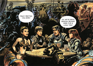 Valerian and the City of a Thousand Planets - Comic