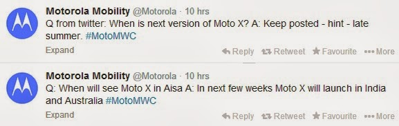 moto x coming to india very soon