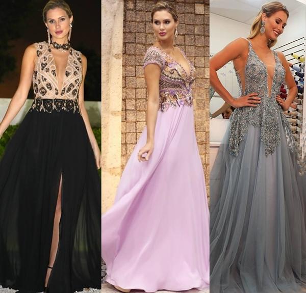 vestidos longos para madrinhas e convidadas