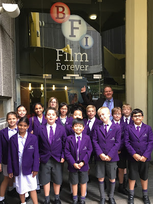 Webber Students at British Film Institute