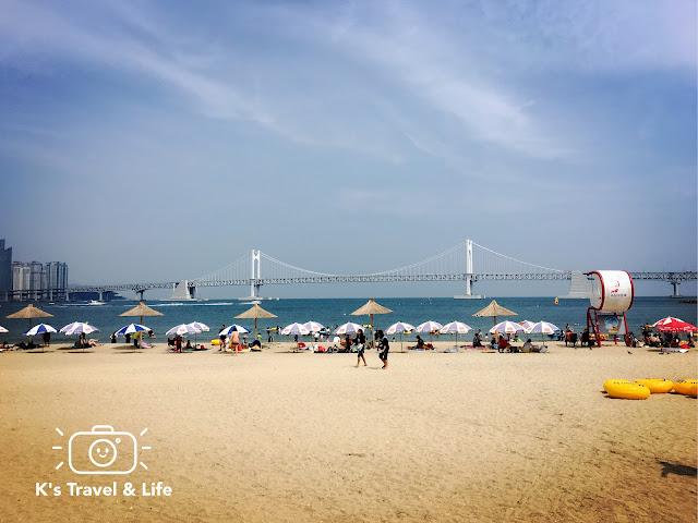 釜山行程及遊記:BeansBins鬆餅、廣安大橋海景