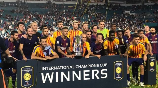 Barcelona Juara ICC 2017 Zona Amerika Serikat