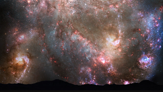 milky way collision with andromeda galaxy