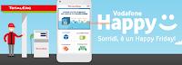 Logo Vodafone Happy Friday: ogni venerdì un regalo! Oggi buono carburante da 5 euro