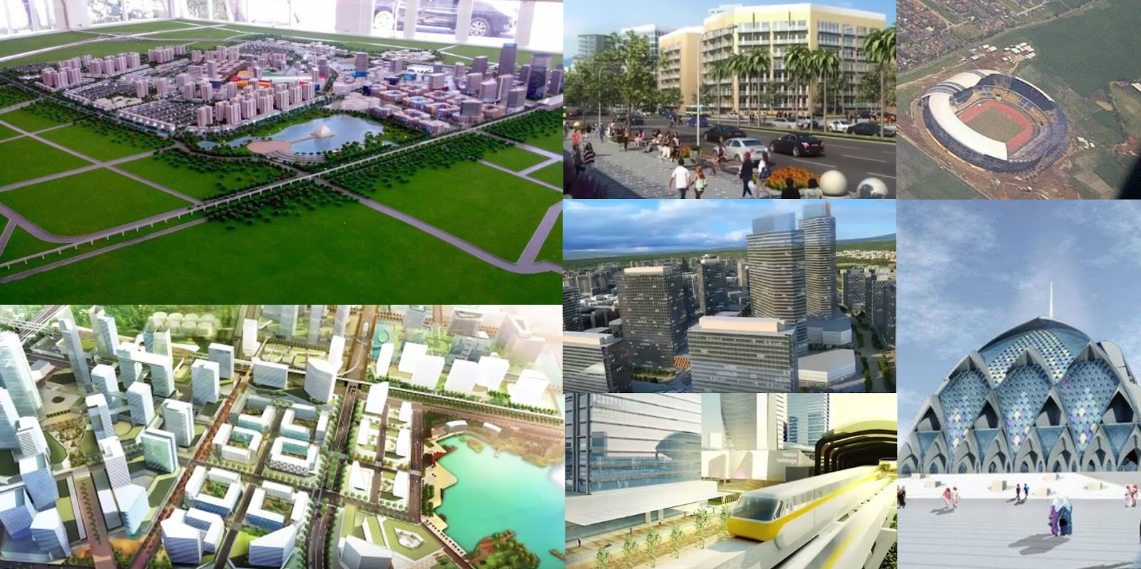 Desain rancangan kawasan Gedebage Bandung