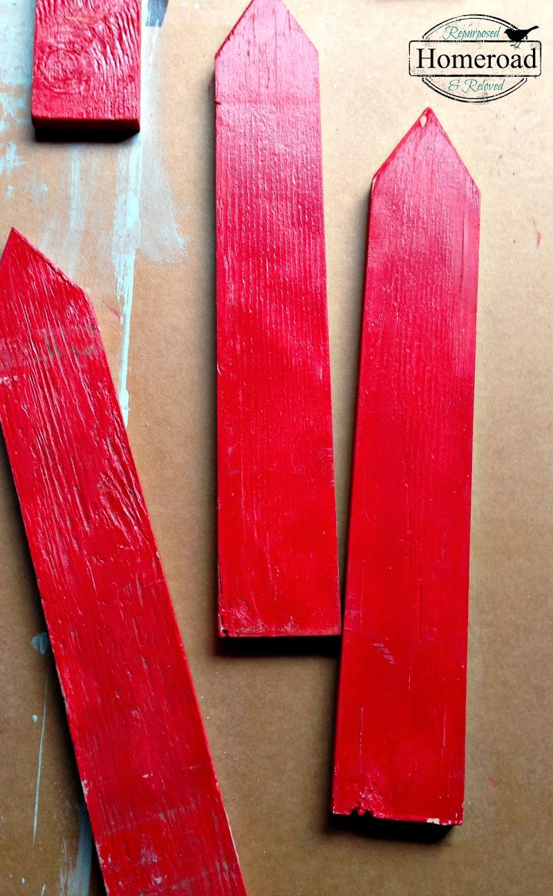 Distressed Set of Arrow Signs