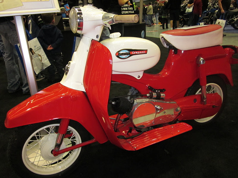 OldMotoDude: Allstate/Puch Compact Scooter -- 2011