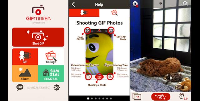Aplikasi GIF Maker Android