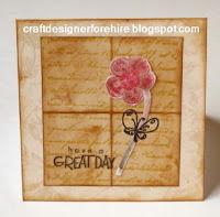 Vintage Inspired Card--Free Step-by-Step Vintage Inspired Card Making Tutorial