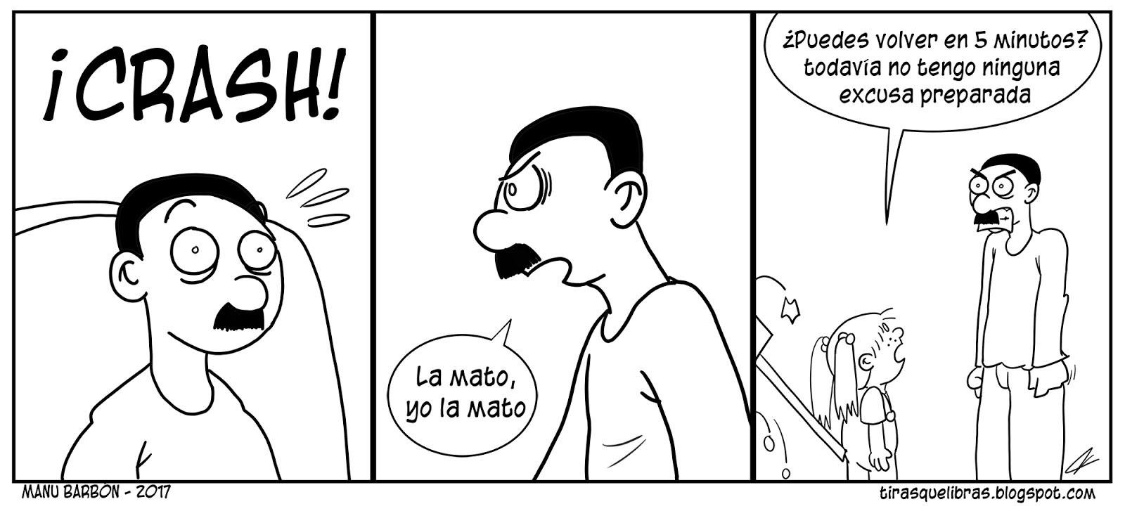 webcomic, jen se la carga